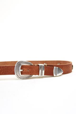 The Single Belt Brown