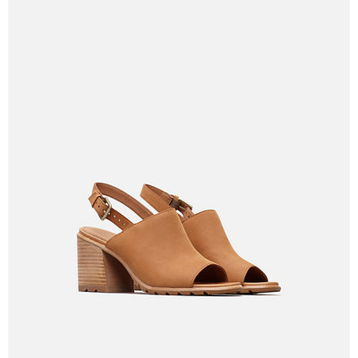 Sorel Nadia Tan Slingback Wedge Sandal-Sorel-Lazy J Ranch Wear