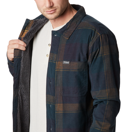 Columbia Plaid Flare Gun Men's Shirt Jacket