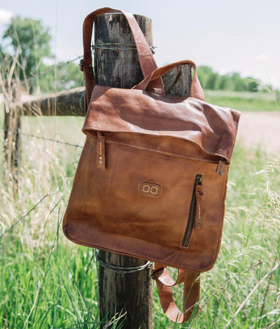 Bed Stu Tan Rustic Howie Backpack