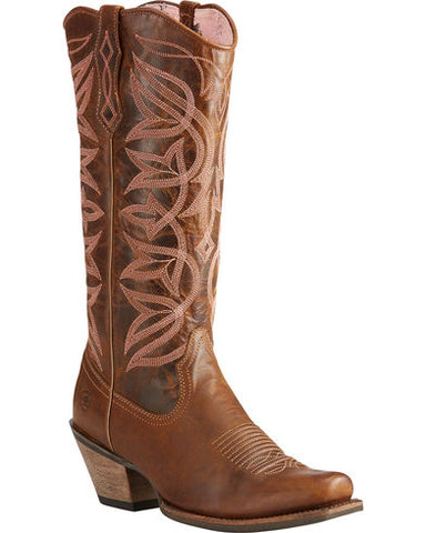 Ariat Women's Brown Sheridan Sassy Western Boots - Square Toe