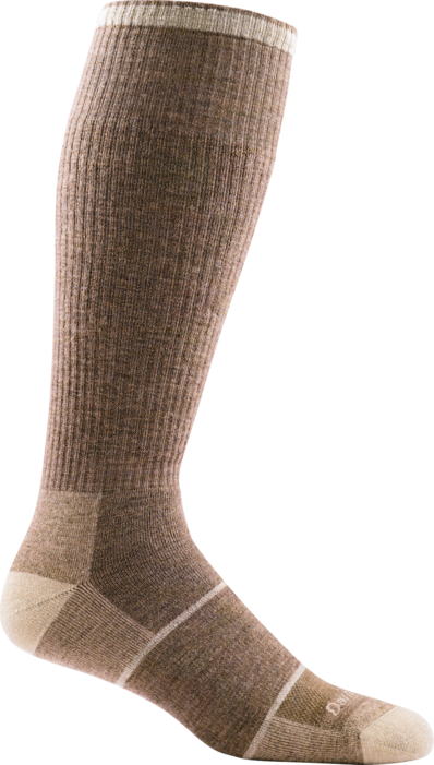 Darn Tough Over-The-Calf Sand Men's Socks