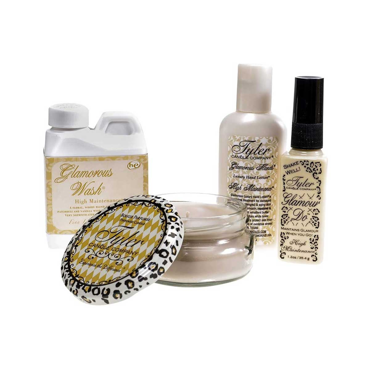 Tyler Candle Company High Maintenance Glamorous Gift Suite IV
