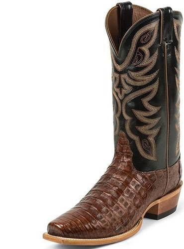 Nocona Cognac Caiman Men's Boot