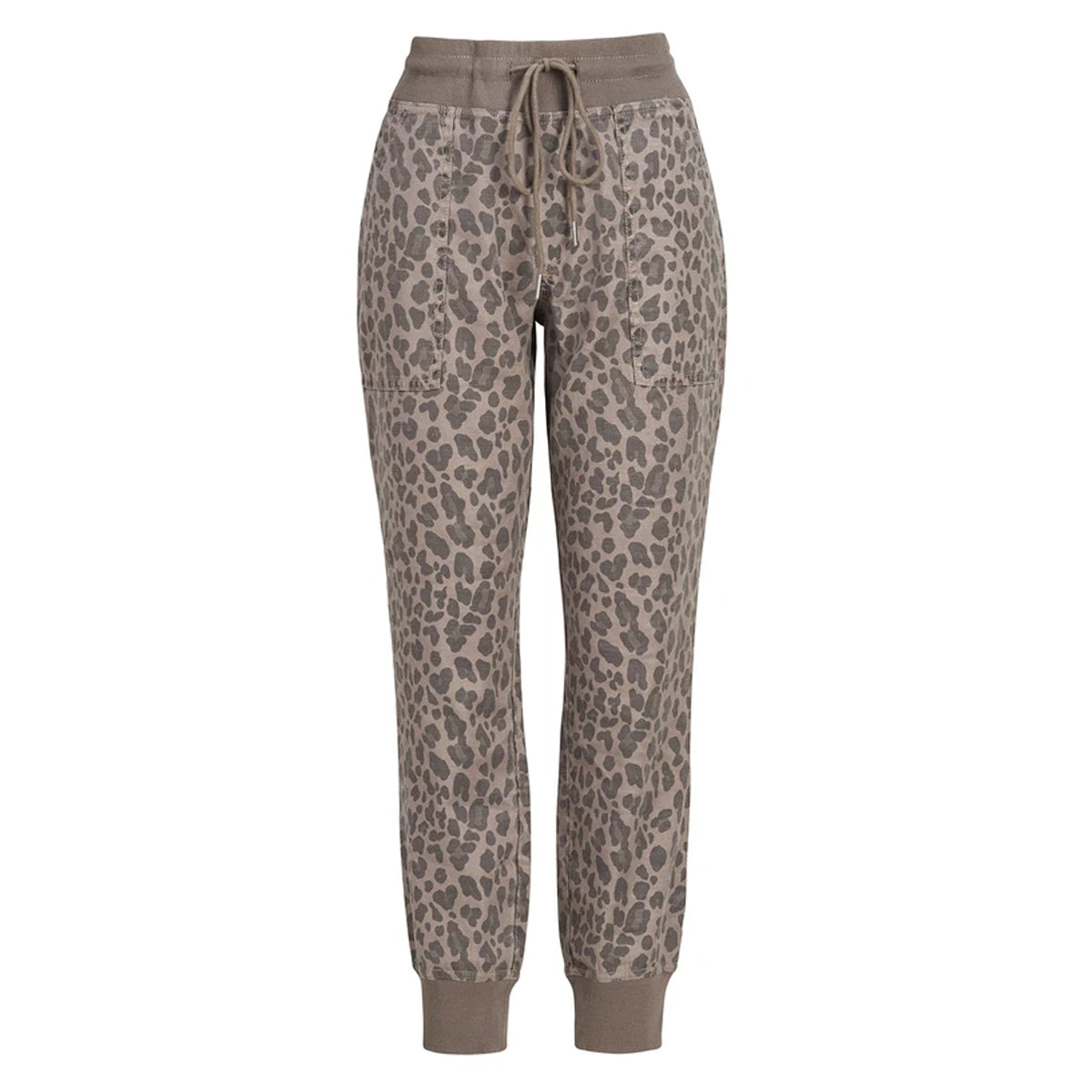 Level99 Women's Gabrielle Wildcat Jogger Pants - Wild Cat Camo