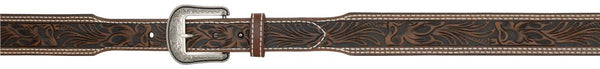 "3D 1 3/4"" Dark Brown Men's Western Belt"
