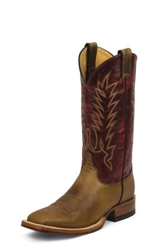 Justin Damiana Tan Men's Western Boot, Men's Boot, Justin - Lazy J Ranch Wear