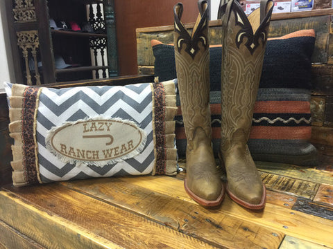 Brn/Tan Gauccho Cowhide By Nocona Boots