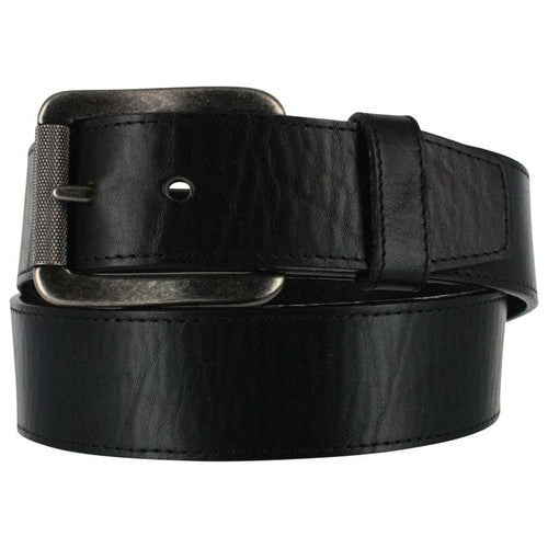 Justin Black Bomber Men's Leather Belt