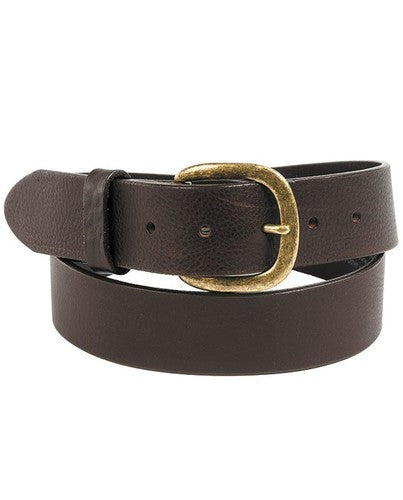 Justin Brown Leather Belt