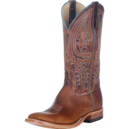 Men's Anderson Bean Tobacco Yeti Brass Explosion Cowboy Boots