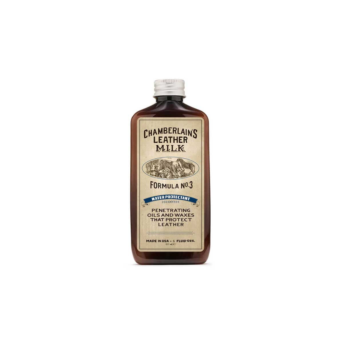Chamberlain's Leather Milk Water Protectant No. 3 – Premium Leather Protector - 6 oz