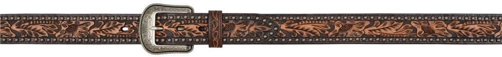 3D Belt Co. Dark Floral Men's Belt, Men's Belt, 3D Belt Company - Lazy J Ranch Wear