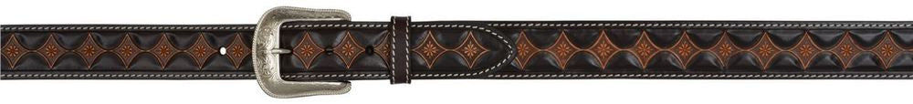 Dark Brown Men's Western Fashion Belt