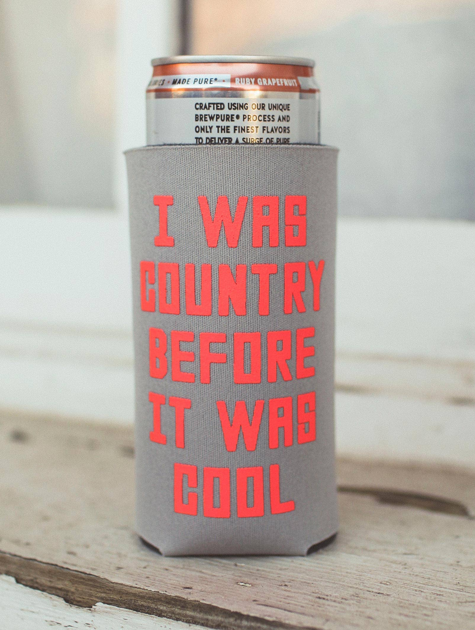 CHARLIE SOUTHERN - I Was Country Before It Was Cool Drink Sleeve