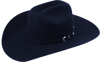 American Hat Co. 40X Midnight Blue Felt Western Hat