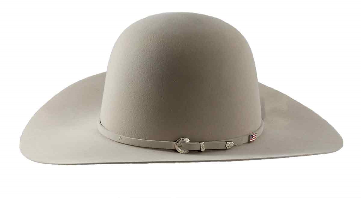 American Hat Co. 40X Silver Belly Felt Western Hat