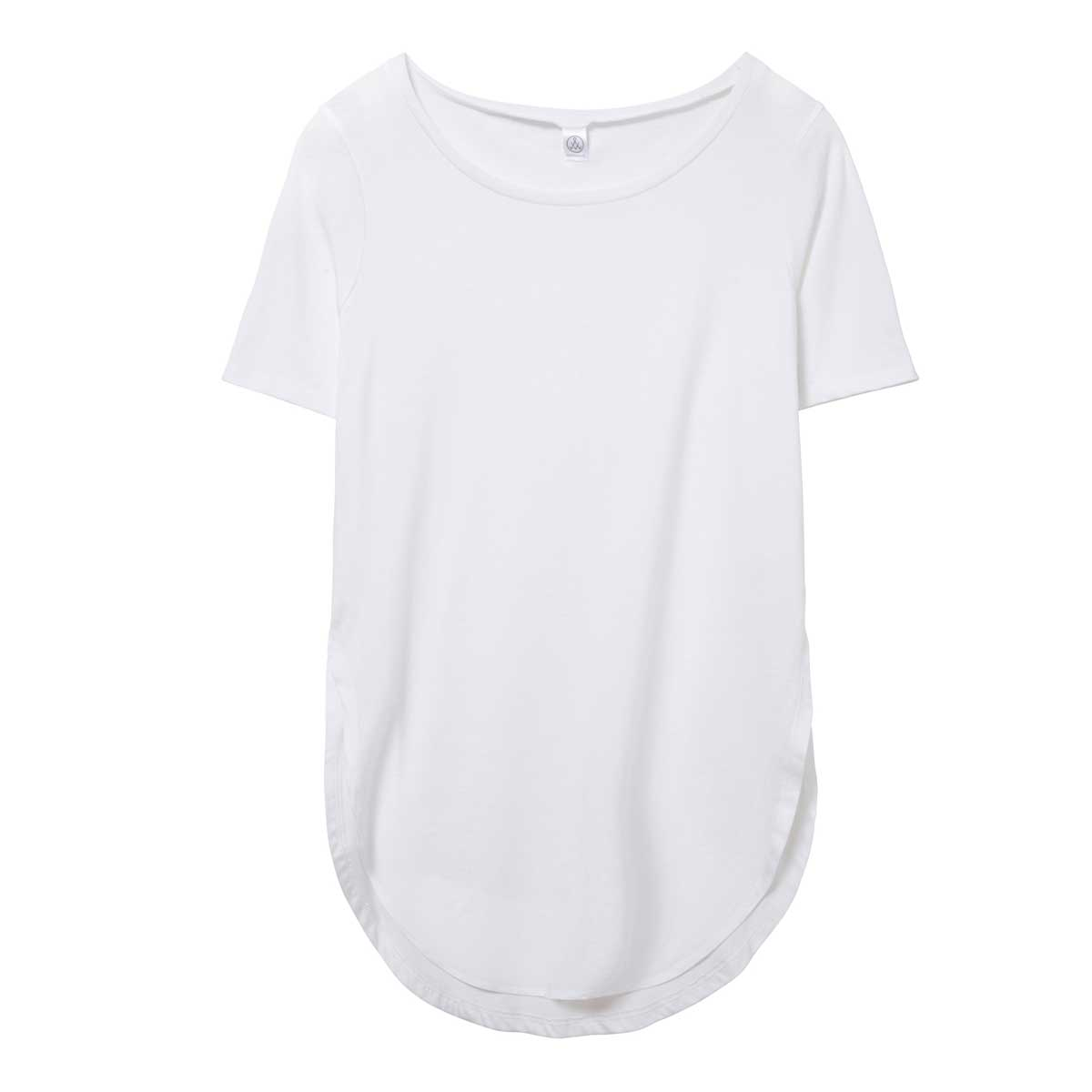 Alternative Women's Organic Cotton Half Sleeve Tunic - Earth White