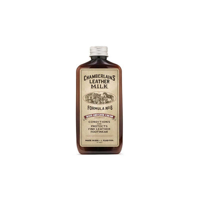Chamberlain's Leather Milk Boot & Shoe Cream No. 6 Premium Leather Boot & Shoe Conditioner - 6 oz