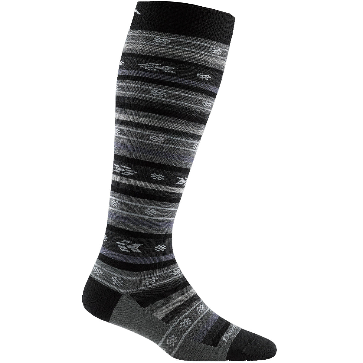 Darn Tough Women's Bronwyn Knee High Lightweight Lifestyle Socks - Black