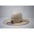 "American Hat Co. 4 1/4"" Brim Chocolate Straw Hat"