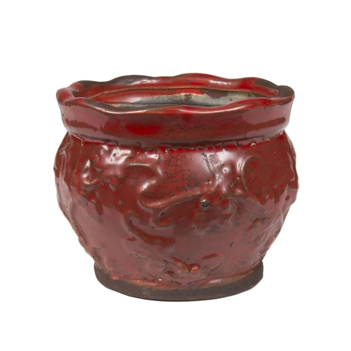 Swan Creek Candle Co Round Pot Candle - Spiced Orange & Cinnamon Holiday