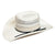 American Hat Co. Vented Straw Rancher Hat - Ivory