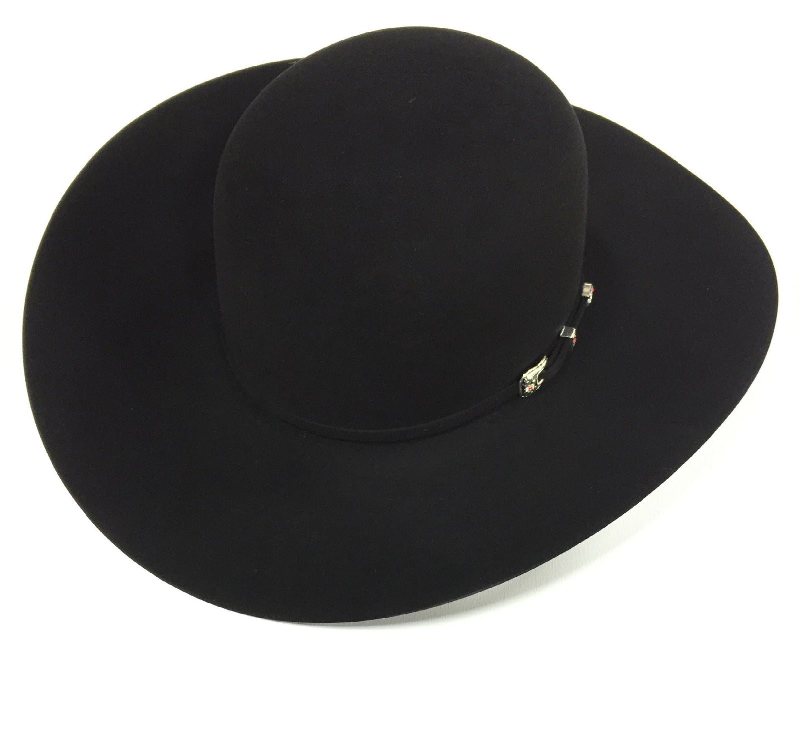 4620528edd24f Black 20X 4 1 4 Brim Felt Hat by American Hat Co.