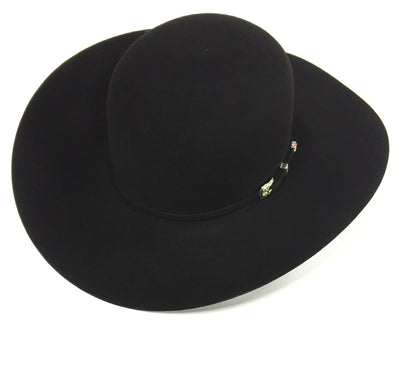 Black 20X 4 1/4 Brim Felt Hat by American Hat Co.