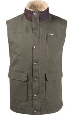 Mountain Khaki Ranch Shearling Terra Men's Vest