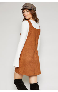 Sadie and Sage Suede Women's Mini Dress