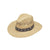 M&F Western Twister Vented Raffia Straw Hat with Ribbon Hatband - Natural Medium