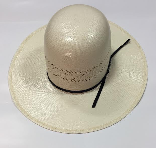 American Hat Co. Black Straw Hat