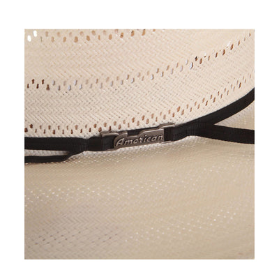 American Hat Co. Men's 7410 Vented Straw Cowboy Hat