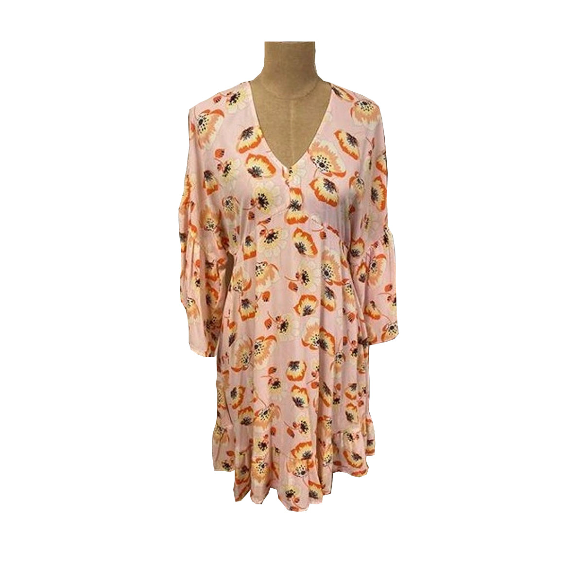 Ivy Jane Women's Burst of Flowers Dress - Peach