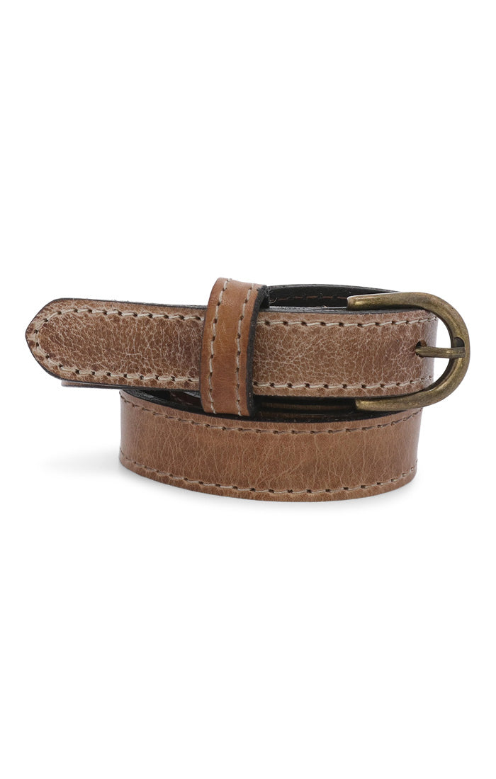 Bed Stu Tan Rustic Monae Skinny Women's Belt