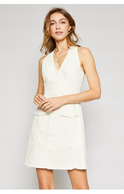 Sadie and Sage Washed Twill Women's Dress