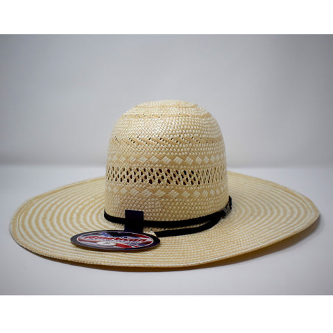 "4 1/2"" brim WHISKEY Ribbon by American Hat Co."