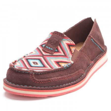 CRUISER COFFEE BEAN/PASTEL AZTEC BY ARIAT