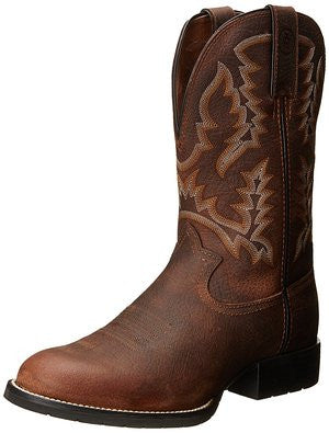 Tony Lama Brown Pitstop Men's Work Boot