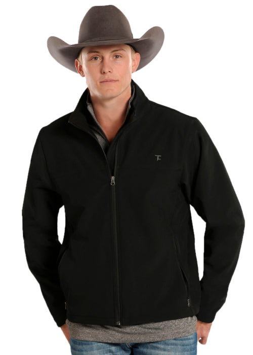 Panhandle Black PR Soft Shell Men's Full Zip Jacket