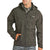 Powder River Outfitters Panhandle Men's Herringbone Softshell Jacket - Charcoal