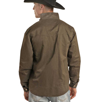 Panhandle Men's Powder River Jacket - Brown