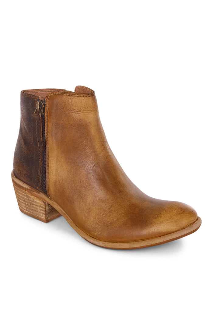 Bed Stu Tan Crust/Suede Women's Leather Bootie