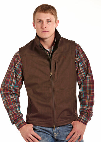 Men's Brown Tuf Cooper Performance Vest