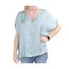 Aunt Wanda Women's V-Neck Top
