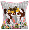 Bucking Horse Pillow