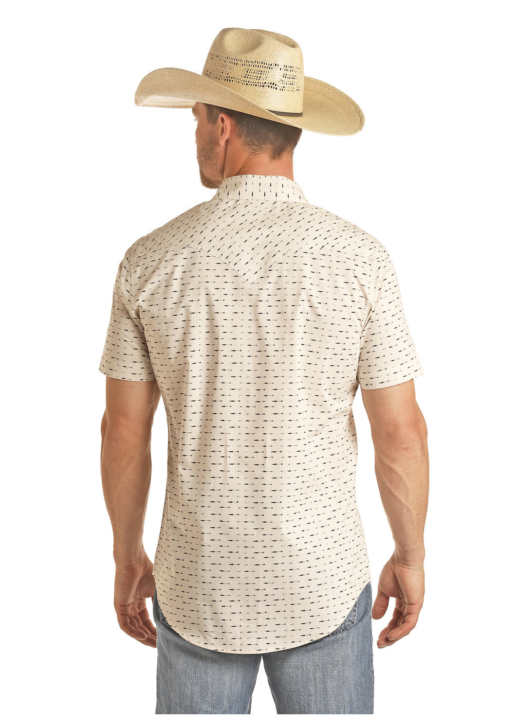 Panhandle Arrow Men's Pearl Snap