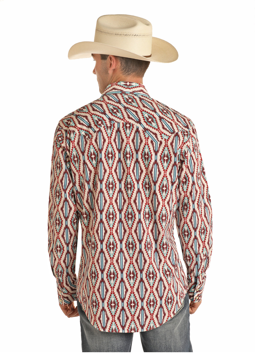 Rock & Roll Cowboy Long Sleeve Pearl Snap Shirt