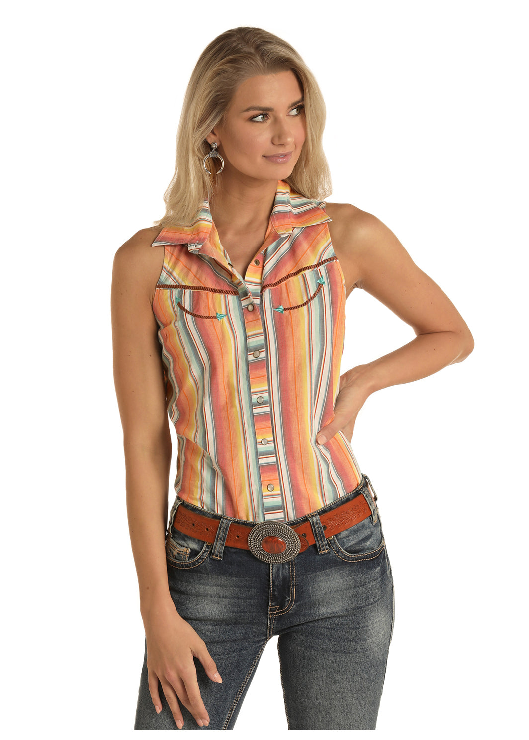 Panhandle Women's Serape Top
